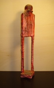 Feticcio 2 - scultura h. 25