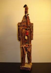 Feticcio 3 - scultura h. 25