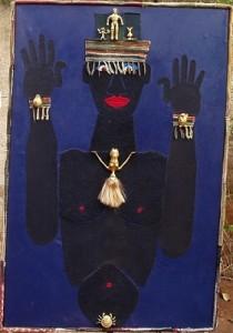 Il Re nero - t.m. su tela 92 x 140